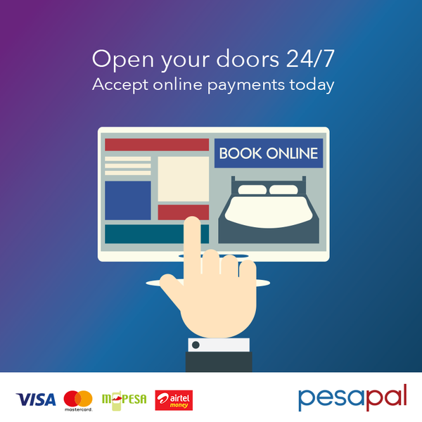 Pesapal Introduces a Revolutionary Online Booking System