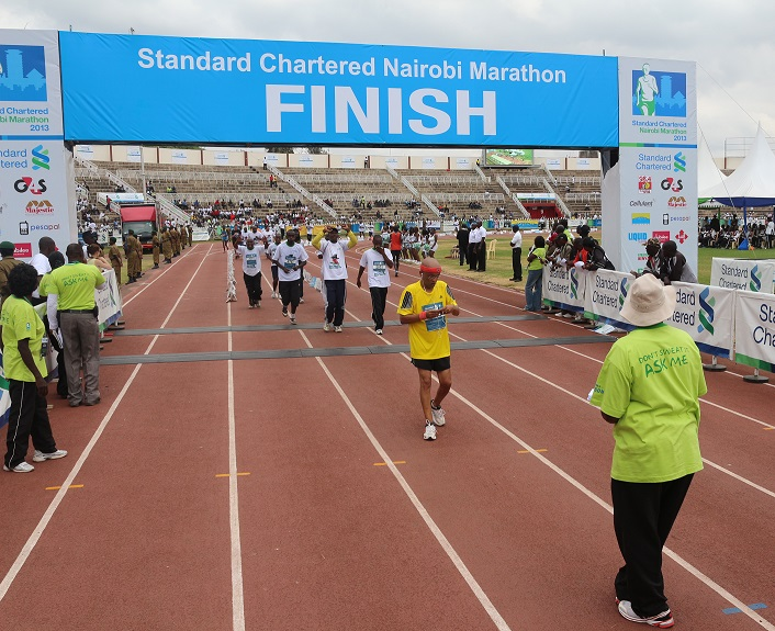 Getting Ready for a Marathon – The Standard Chartered Nairobi Marathon 2014