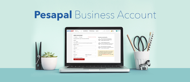 How to Open a Business Account on Pesapal