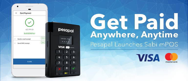 Pesapal Launches Sabi Mobile Point Of Sale (mPOS)