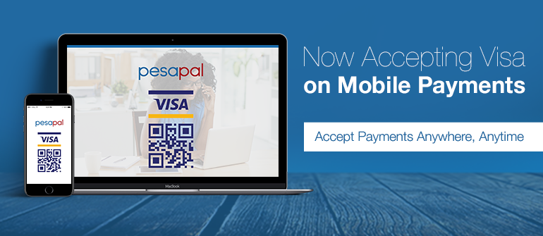 Visa on Mobile is Now on Pesapal