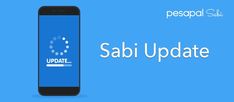 Pesapal Sabi Update