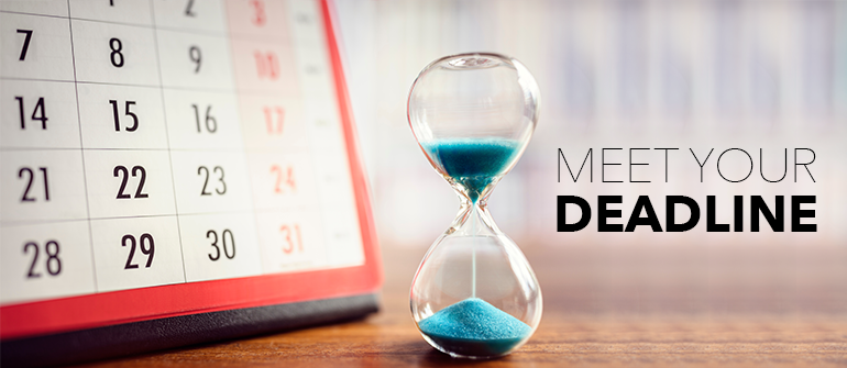 5 Reasons You Should Meet Deadlines In Business
